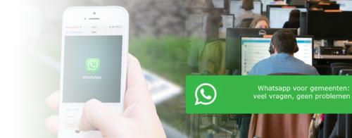 Whatsapp bij gemeenten; veel vragen, geen problemen